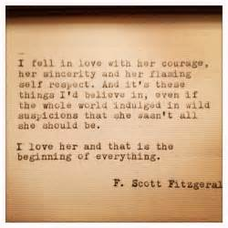 Love Quotes F by Gallery For Gt F Scott Fitzgerald Quotes Love