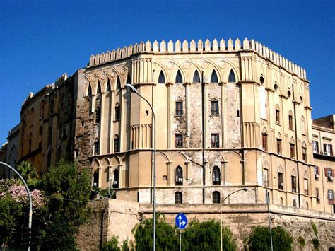 pisana cornici the norman palace of palermo sicilia turismo