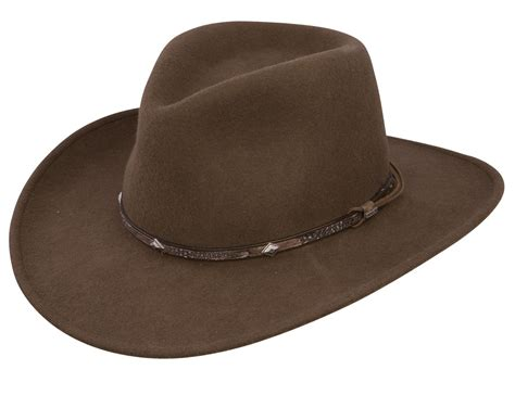 Hats To You by Stetson Mountain Sky Crushable Outback Hat
