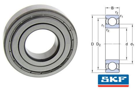Bearing 6002 2z Skf 6002 2z c3gjn skf shielded groove bearing