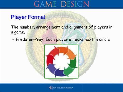 game design merit badge phlet bsa game design merit badge