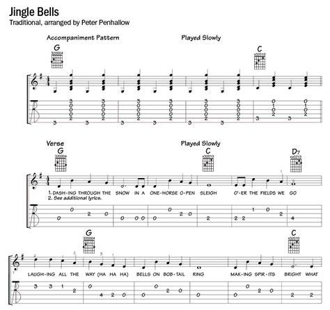 guitar tutorial jingle bells guitar tabs easy