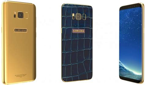Indocustomcase Logo Galaxy S8 S8 Plus Custom legend unveils 24k gold plated galaxy s8 and s8 notebookcheck net news