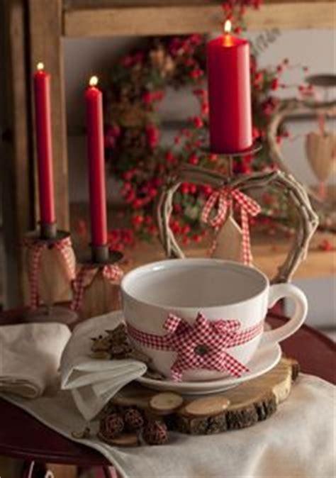 candele rosse candele natalizie per tutti i gusti in stile shabby chic