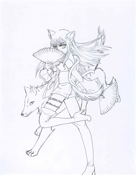 coloring page gray wolf how to draw gray wolf