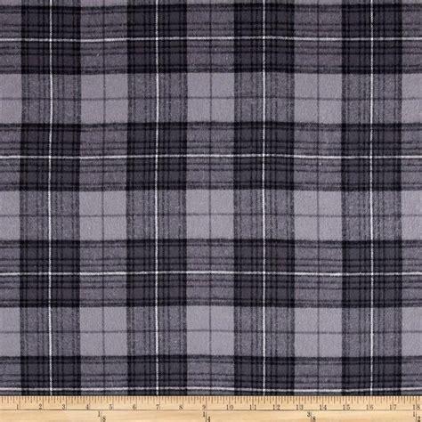 grey flannel upholstery fabric yarn dyed flannel plaid grey discount designer fabric