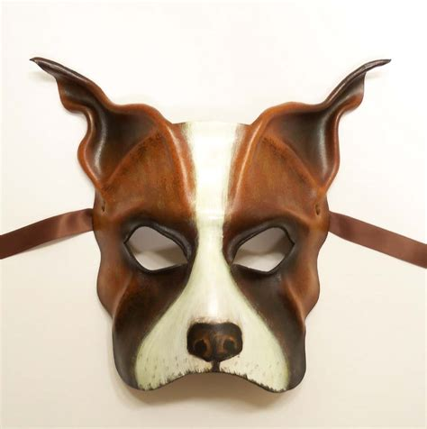 leather puppy mask leather mask boxer mastiff bulldog bully by teonova on deviantart