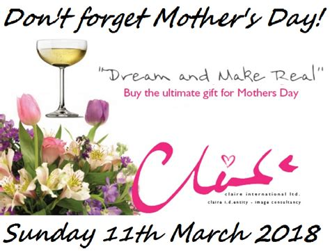 mothers day date 2018 don t forget s day claireid