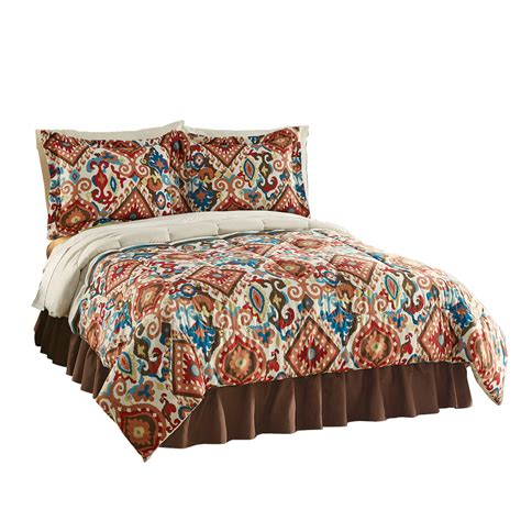aztec bedding breckenridge southwest aztec comforter set by collections