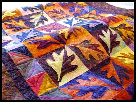 quilt pattern autumn leaves autumn quilt finished carla barrett