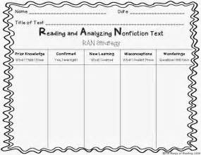 Printable Kwl Chart Read Amp Analyze Nonfiction Text With The Rungs Of Reading