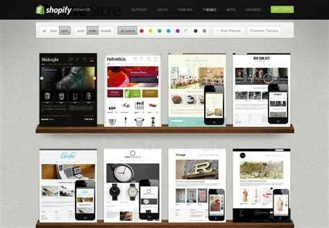 shopify themes best 2015 shopify reviews