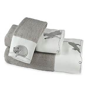 cat bath towels cats bath towel in white bed bath beyond