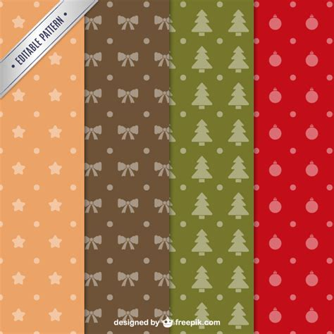 christmas patterns year 1 collection of christmas patterns vector free download