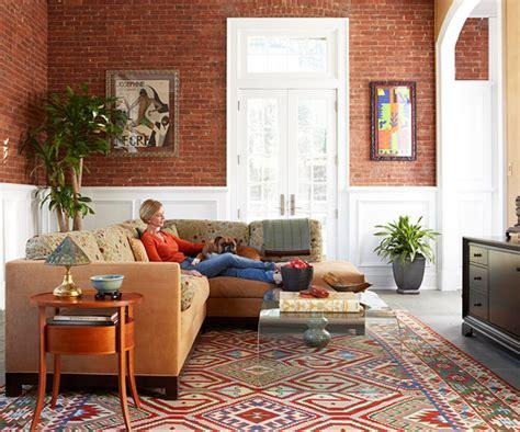 wohnideen perserteppich gewagte farbgestaltung f 252 r ihr wohnzimmer feiern sie das