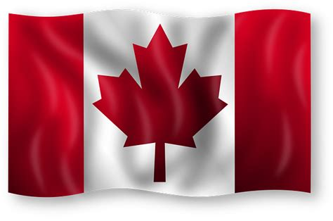 Canada flag canadian country emblem leaf maple