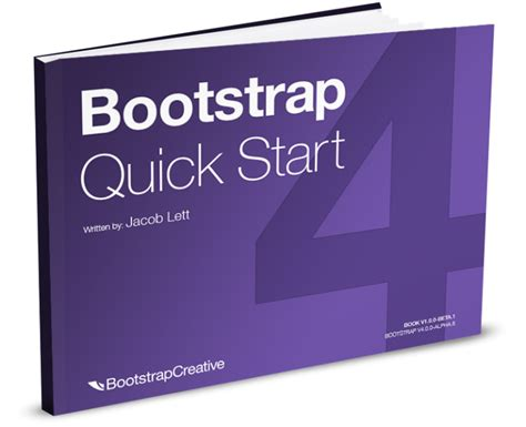 bootstrap templates for beginners bootstrap 4 book for beginners learn responsive web