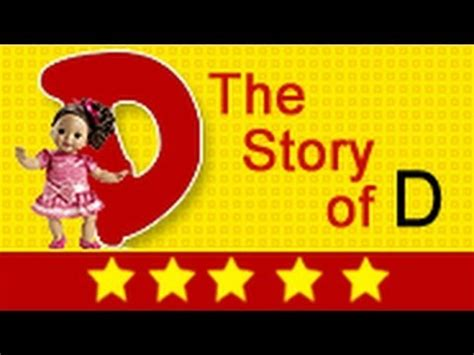 The L From The Story alphabet songs story of letter d for nursery