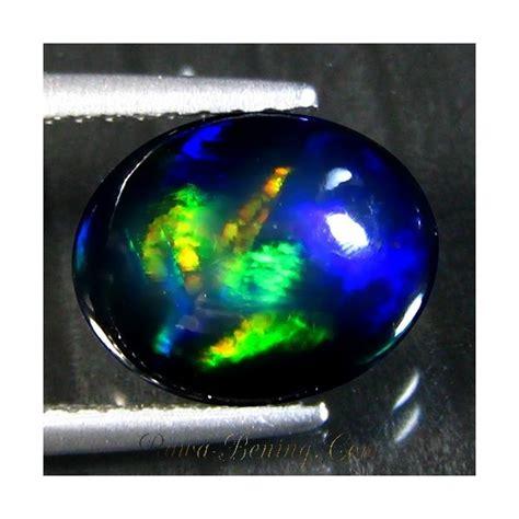 Black Opal Banten Liontin 1 jual batu mulia black opal australia biru hijau neon 1 79