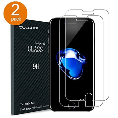 Tempered Glass Clear Iphones 7 Plus 5 5 In Belakang Kaca Bening review ouluoqi tempered glass screen protector for
