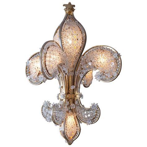 fleur de lis lighting magnificent fleur de lis chandelier at 1stdibs