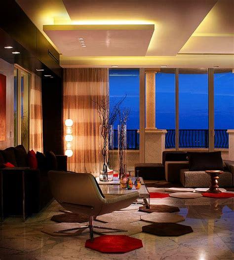 moderne beleuchtung im wohnzimmer led deckenle 43 moderne vorschl 228 ge