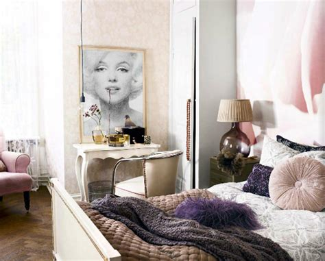 marilyn themed bedroom wallpaper theme of the week inredningsvis