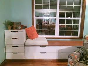 Ikea Window Seat by Sweet Stolmen Seating Ikea Hackers Ikea Hackers