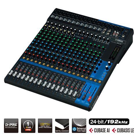Mixer Yamaha Mg24 Xu serie mg descripci 243 n mesas de mezcla sonido profesional productos yamaha espa 241 a