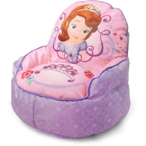 toddler bean bag chair disney sofia the 1st toddler bean bag sofa chair walmart com