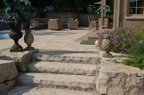 natural stone walls steps natures  landscape