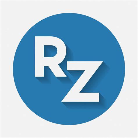 design icon circle rz circle flat logo design by zaffa91 on deviantart