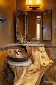 Get inspired rustic bathroom styles for the modern property decor