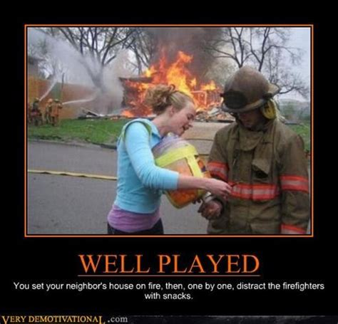 Funny Vire Memes - well played fire department dump a day