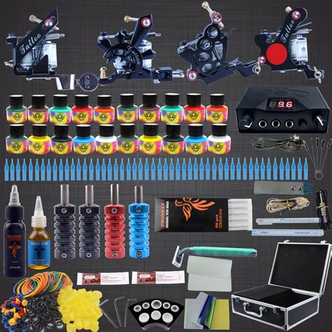 tattoo kit professional complete kit machine 4pcs liner
