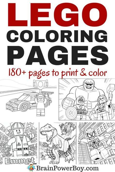 coloring book all we got 25 beste idee 235 n lego kleurplaten op