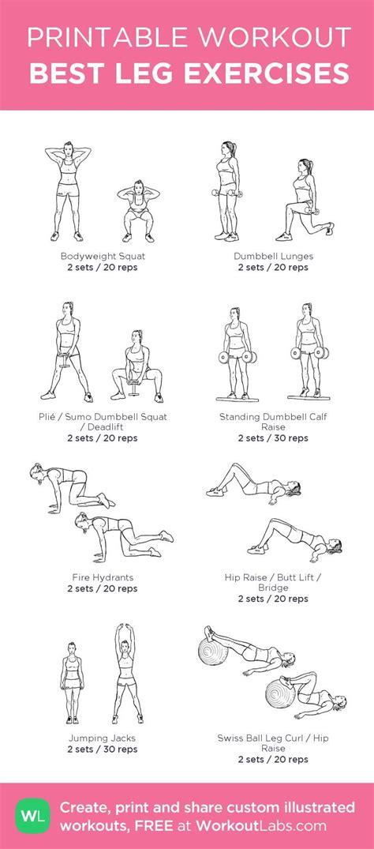 best leg exercises my custom printable workout by workoutlabs workoutlabs customworkout
