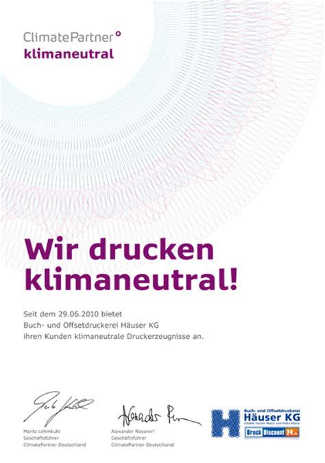Visitenkarten Nachhaltig Drucken by Umweltschutz Und Nachhaltigkeit In Der Druckerei H 228 User Kg