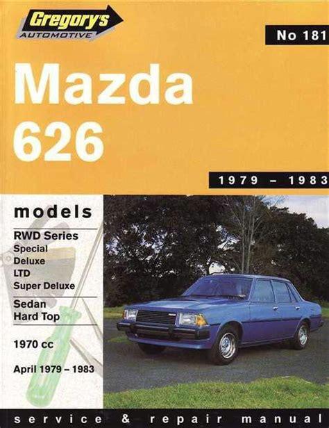 manual repair free 1989 mazda 626 navigation system mazda 626 rwd 1979 1983 gregorys owners service repair manual 0855665041 9780855665043