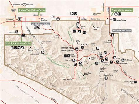 joshua tree park map 87 best images about trip nat parks west on
