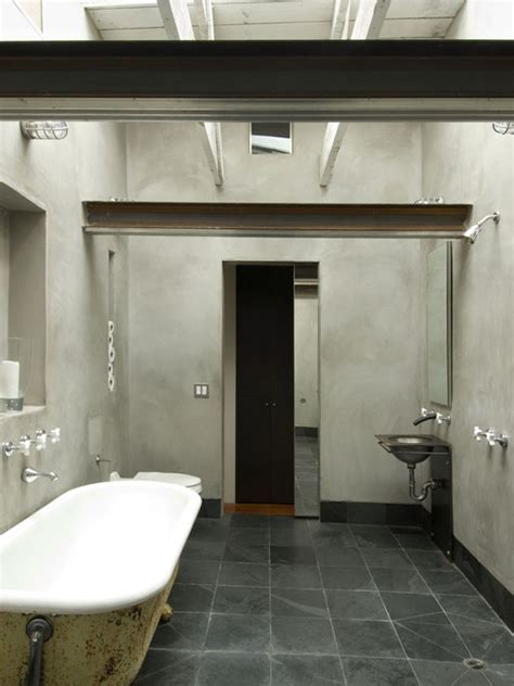 industrial bathroom design rustic bath industrial design bathroom