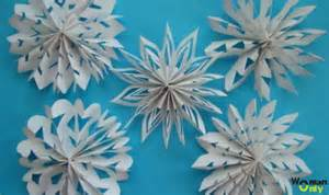 схема новогодних снежинок объемные