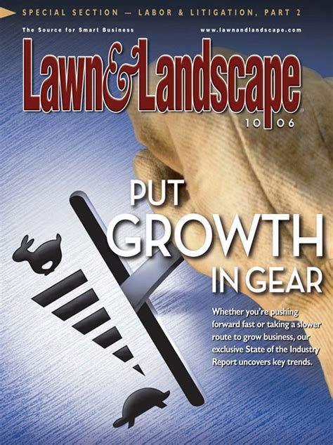 free lawn landscape magazine the green