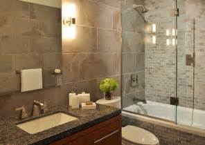 glass doors small bathroom: compact bathroom with elegant shower space encased in glass