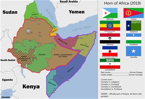 horn of africa map horn of africa 2019 by sevgart on deviantart