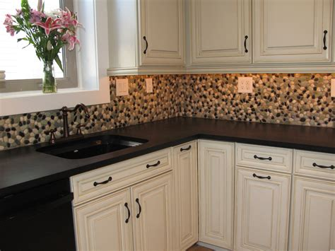 peel and stick mosaic tile backsplash with