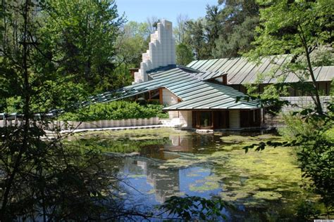 famous houses frank lloyd wright alden b dow and 13 other famous architects homes photos