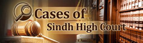 Sindh High Court Search Welcome To High Court Of Sindh