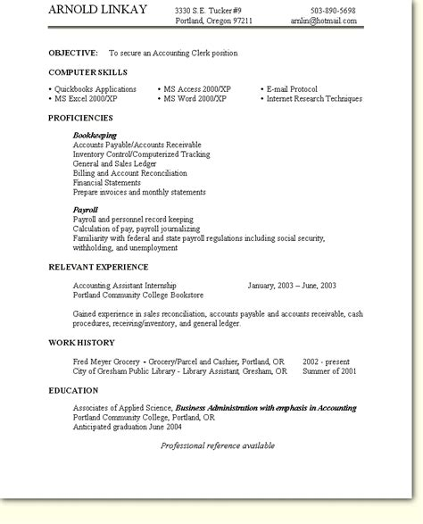 sle of skills based resume resume ideas