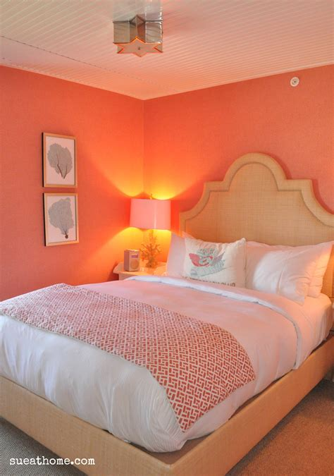 coral color bedroom how to create a tides beach club room at home sue at home